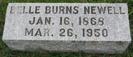NEWELL, BELLE - Burt County, Nebraska | BELLE NEWELL - Nebraska Gravestone Photos