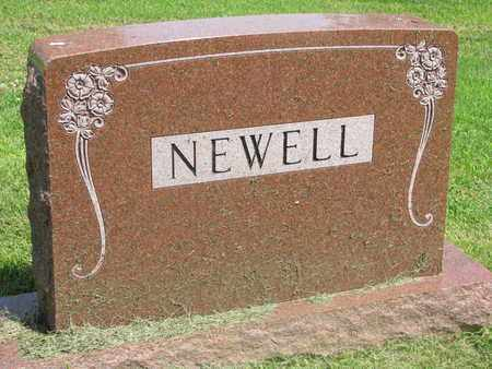 NEWELL, (FAMILY MONUMENT) - Burt County, Nebraska | (FAMILY MONUMENT) NEWELL - Nebraska Gravestone Photos