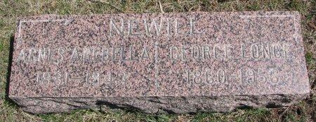 NEWELL, AGNES AREBELLA - Burt County, Nebraska | AGNES AREBELLA NEWELL - Nebraska Gravestone Photos