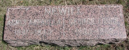 NEWELL, GEORGE LONGE - Burt County, Nebraska | GEORGE LONGE NEWELL - Nebraska Gravestone Photos