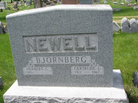 NEWELL, HERBERT G. - Burt County, Nebraska   HERBERT G. NEWELL - Nebraska Gravestone Photos