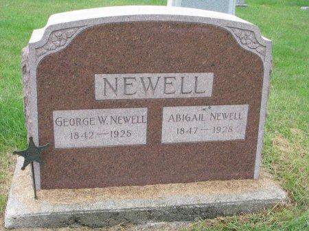 NEWELL, ABIGAIL - Burt County, Nebraska   ABIGAIL NEWELL - Nebraska Gravestone Photos