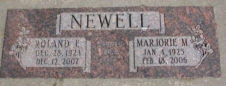 NEWELL, ROLAND F. - Burt County, Nebraska | ROLAND F. NEWELL - Nebraska Gravestone Photos