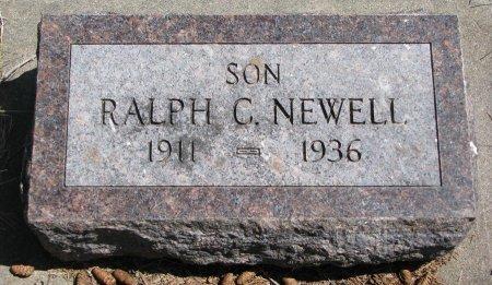 NEWELL, RALPH C. - Burt County, Nebraska | RALPH C. NEWELL - Nebraska Gravestone Photos