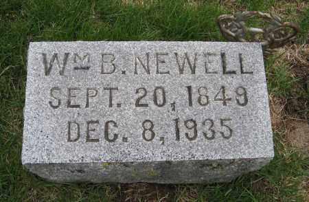 NEWELL, WM. B. - Burt County, Nebraska   WM. B. NEWELL - Nebraska Gravestone Photos
