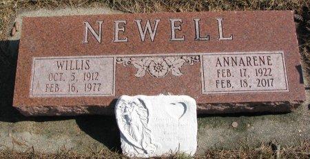 NEWELL, ANNARENE - Burt County, Nebraska | ANNARENE NEWELL - Nebraska Gravestone Photos