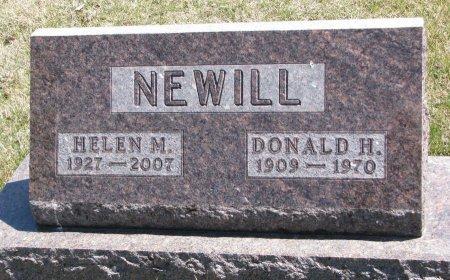 NEWILL, HELEN MARIE - Burt County, Nebraska | HELEN MARIE NEWILL - Nebraska Gravestone Photos