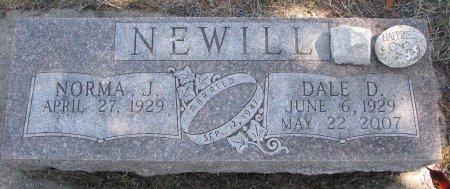 NEWILL, NORMA J. - Burt County, Nebraska | NORMA J. NEWILL - Nebraska Gravestone Photos