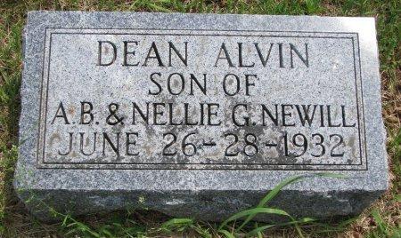 NEWILL, DEAN ALVIN - Burt County, Nebraska | DEAN ALVIN NEWILL - Nebraska Gravestone Photos
