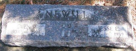 NEWILL, GWEN P. - Burt County, Nebraska | GWEN P. NEWILL - Nebraska Gravestone Photos