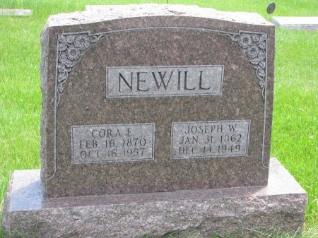 NEWILL, JOSEPH W. - Burt County, Nebraska | JOSEPH W. NEWILL - Nebraska Gravestone Photos