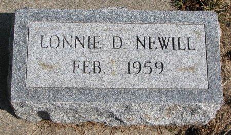 NEWILL, LONNIE D. - Burt County, Nebraska | LONNIE D. NEWILL - Nebraska Gravestone Photos