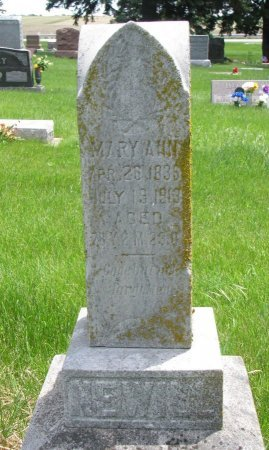 NEWILL, MARY ANN - Burt County, Nebraska | MARY ANN NEWILL - Nebraska Gravestone Photos