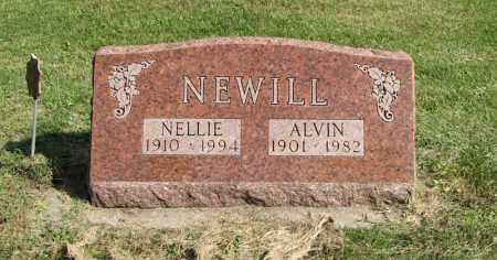 NEWILL, ALVIN - Burt County, Nebraska | ALVIN NEWILL - Nebraska Gravestone Photos