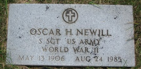 NEWILL, OSCAR H. - Burt County, Nebraska | OSCAR H. NEWILL - Nebraska Gravestone Photos