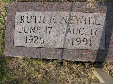 NEWILL, RUTH E. - Burt County, Nebraska   RUTH E. NEWILL - Nebraska Gravestone Photos