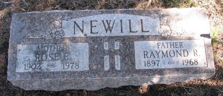 NEWILL, ROSE E. - Burt County, Nebraska | ROSE E. NEWILL - Nebraska Gravestone Photos