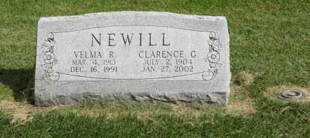 NEWILL, CLARENCE C. - Burt County, Nebraska   CLARENCE C. NEWILL - Nebraska Gravestone Photos