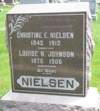 JOHNSON, LOUISE N. - Burt County, Nebraska | LOUISE N. JOHNSON - Nebraska Gravestone Photos