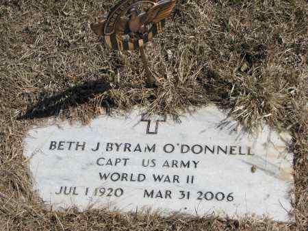 O'DONNELL, BETH J. - Burt County, Nebraska | BETH J. O'DONNELL - Nebraska Gravestone Photos