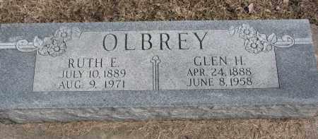 OLBREY, GLEN H. - Burt County, Nebraska   GLEN H. OLBREY - Nebraska Gravestone Photos