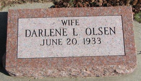 OLSEN, DARLENE L. - Burt County, Nebraska | DARLENE L. OLSEN - Nebraska Gravestone Photos