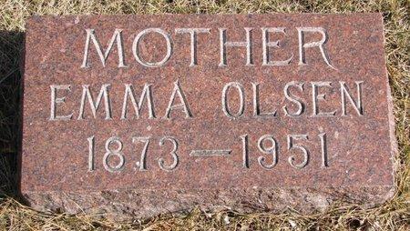 OLSEN, EMMA LOUISE - Burt County, Nebraska | EMMA LOUISE OLSEN - Nebraska Gravestone Photos