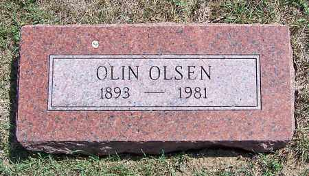 OLSEN, OLIN - Burt County, Nebraska   OLIN OLSEN - Nebraska Gravestone Photos