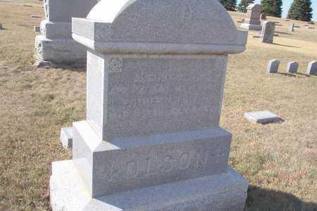OLSON, AUGUST - Burt County, Nebraska | AUGUST OLSON - Nebraska Gravestone Photos
