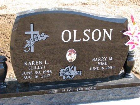 "OLSON, BARRY M. ""MIKE"" - Burt County, Nebraska | BARRY M. ""MIKE"" OLSON - Nebraska Gravestone Photos"