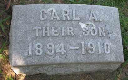 OLSON, CARL A. - Burt County, Nebraska | CARL A. OLSON - Nebraska Gravestone Photos