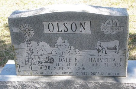 OLSON, HARVETTA P. - Burt County, Nebraska | HARVETTA P. OLSON - Nebraska Gravestone Photos