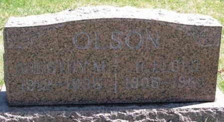 OLSON, H. LLOYD - Burt County, Nebraska | H. LLOYD OLSON - Nebraska Gravestone Photos