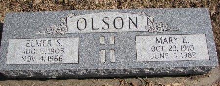 OLSON, ELMER S. - Burt County, Nebraska | ELMER S. OLSON - Nebraska Gravestone Photos