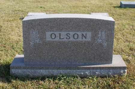 OLSON, FAMILY - Burt County, Nebraska | FAMILY OLSON - Nebraska Gravestone Photos