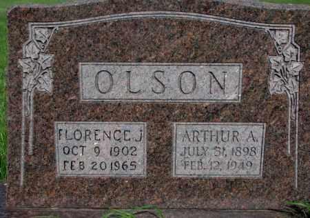 OLSON, ARTHUR A. - Burt County, Nebraska   ARTHUR A. OLSON - Nebraska Gravestone Photos
