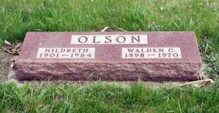 OLSON, WALDEN C. - Burt County, Nebraska | WALDEN C. OLSON - Nebraska Gravestone Photos