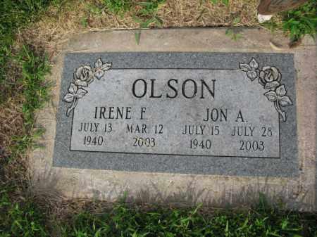 OLSON, JON A. - Burt County, Nebraska | JON A. OLSON - Nebraska Gravestone Photos