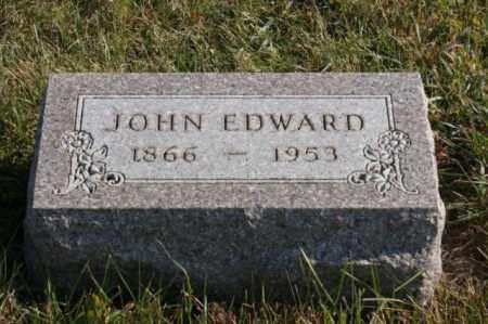 OLSON, JOHN EDWARD - Burt County, Nebraska | JOHN EDWARD OLSON - Nebraska Gravestone Photos