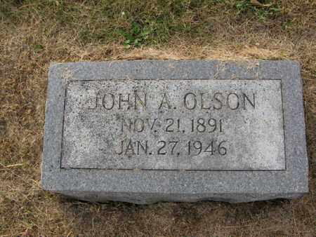 OLSON, JOHN A. - Burt County, Nebraska | JOHN A. OLSON - Nebraska Gravestone Photos