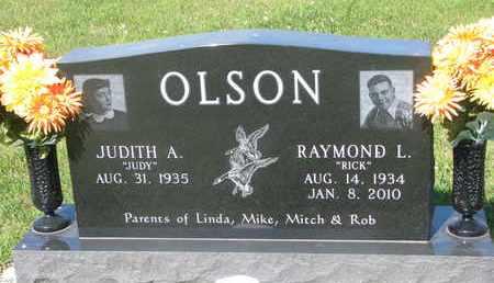 "OLSON, RAYMOND L. ""RICK"" - Burt County, Nebraska   RAYMOND L. ""RICK"" OLSON - Nebraska Gravestone Photos"