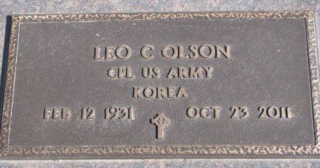 OLSON, LEO C. - Burt County, Nebraska | LEO C. OLSON - Nebraska Gravestone Photos