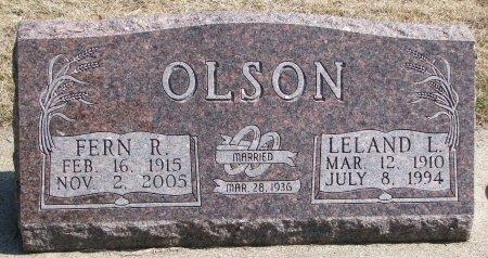 OLSON, FERN R. - Burt County, Nebraska | FERN R. OLSON - Nebraska Gravestone Photos