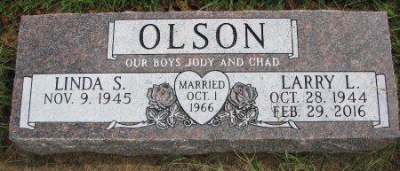 OLSON, LARRY L. - Burt County, Nebraska | LARRY L. OLSON - Nebraska Gravestone Photos