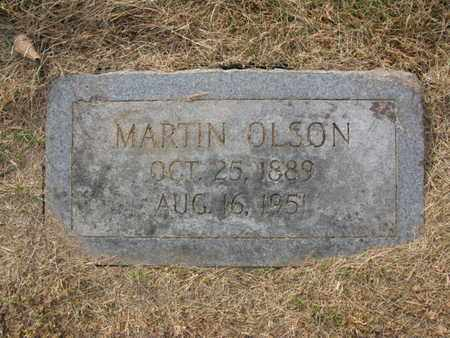 OLSON, MARTIN - Burt County, Nebraska   MARTIN OLSON - Nebraska Gravestone Photos