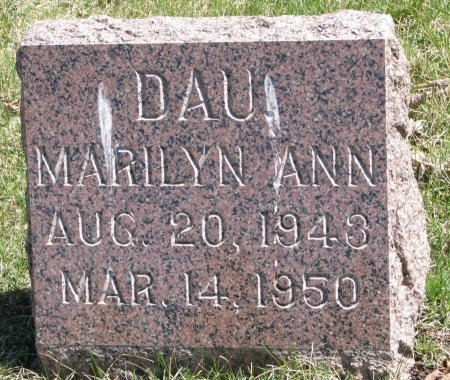 OLSON, MARILYN ANN - Burt County, Nebraska | MARILYN ANN OLSON - Nebraska Gravestone Photos