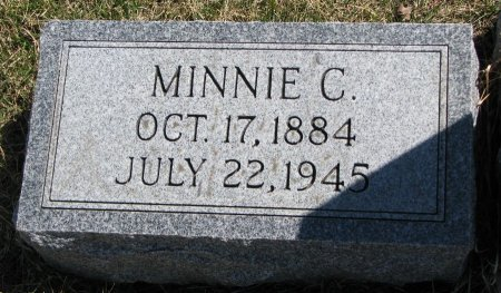 OLSON, MINNIE C. - Burt County, Nebraska | MINNIE C. OLSON - Nebraska Gravestone Photos