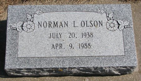 OLSON, NORMAN L. - Burt County, Nebraska | NORMAN L. OLSON - Nebraska Gravestone Photos