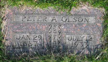 OLSON, PETER A. - Burt County, Nebraska | PETER A. OLSON - Nebraska Gravestone Photos