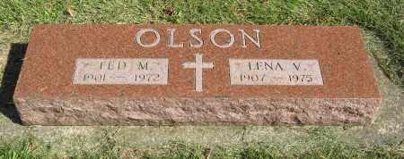 OLSON, TED M. - Burt County, Nebraska   TED M. OLSON - Nebraska Gravestone Photos